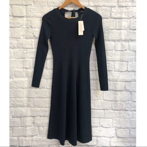 BNWT Banana Republic Navy Knit Dress XS